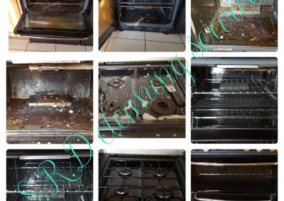 Double oven cleaning