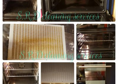 Double oven and fan cleaning