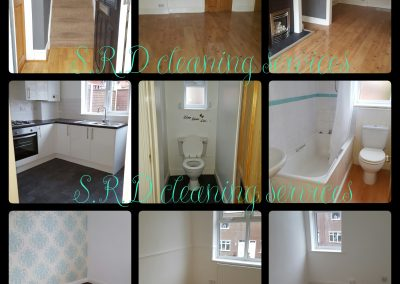 End of tenancy clean