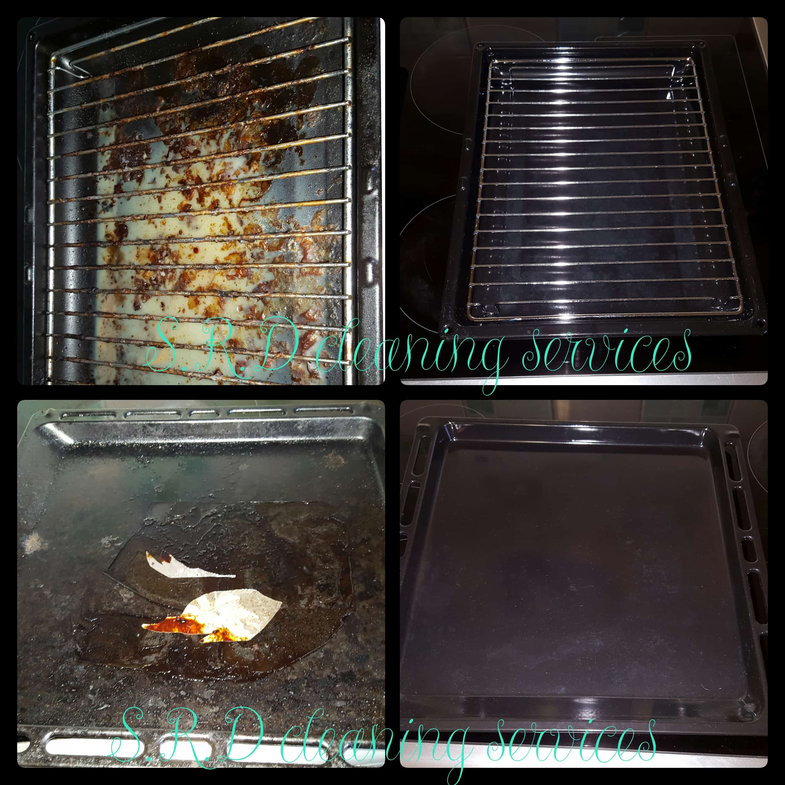 Srd cleaning services contact us direct - Clean oven tray less minute ...