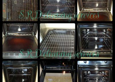 Single oven, tray